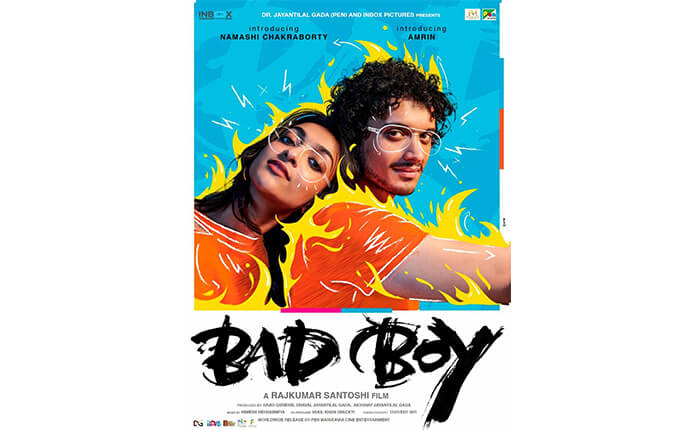 first-poster-of-mithun-chakrabortys-son-debut-film-bad-boy-released-by-salman-khan