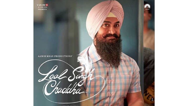 Aamir Khan posts first look from 'Laal Singh Chaddha'