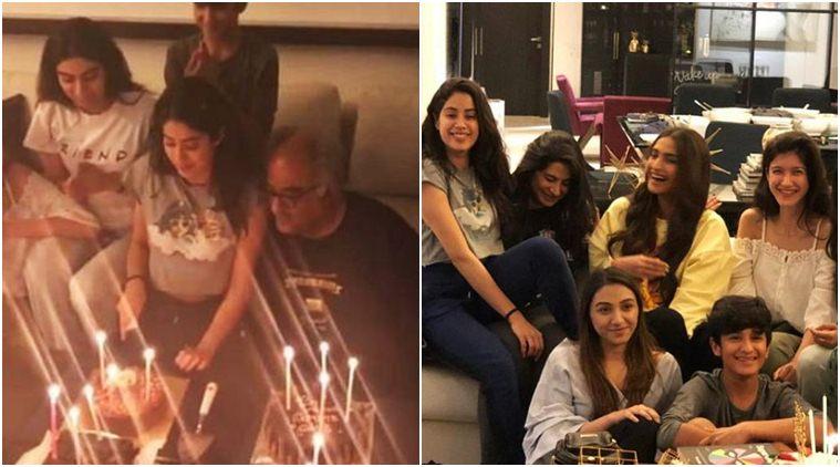 Janhvi Kapoor celebrates birthday with Sonam, Rhea, Khushi and Anshula