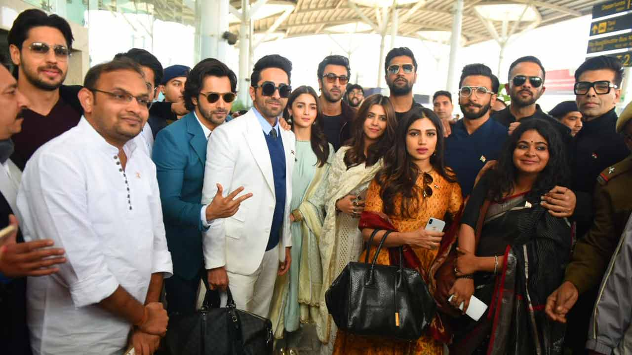 Ranveer Singh, Alia Bhatt and other Bollywood stars meet PM Modi