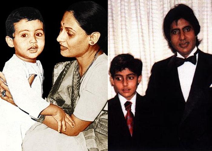 On Abhishek Bachchan's birthday, dad Amitabh Bachchan gets emotional, recalls his childhood