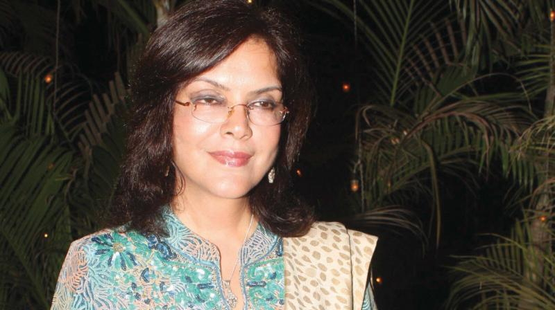 Zeenat Aman files a rape case and cheating her of more than 15 crores on a businessman.