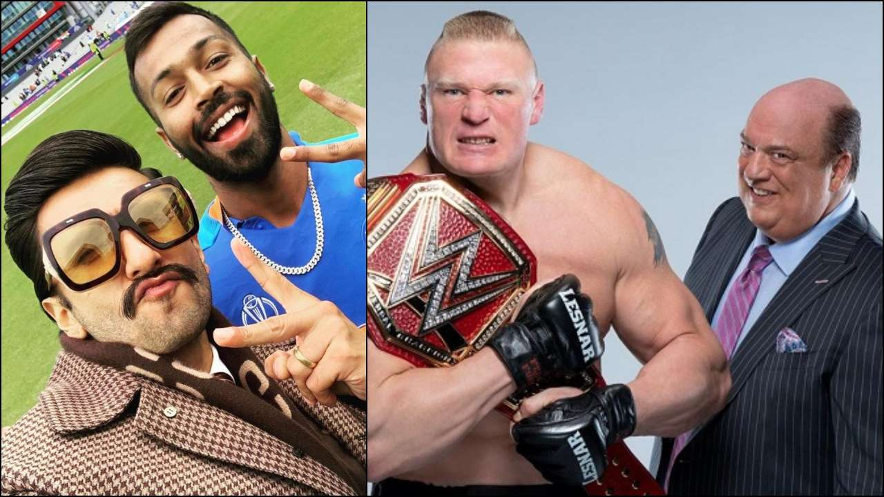 Ranveer Singh served legal notice by WWE Wrestler Brock Lesnar