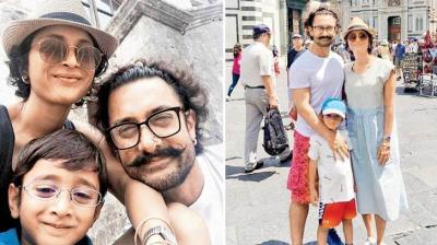 Aamir Khan showcases his