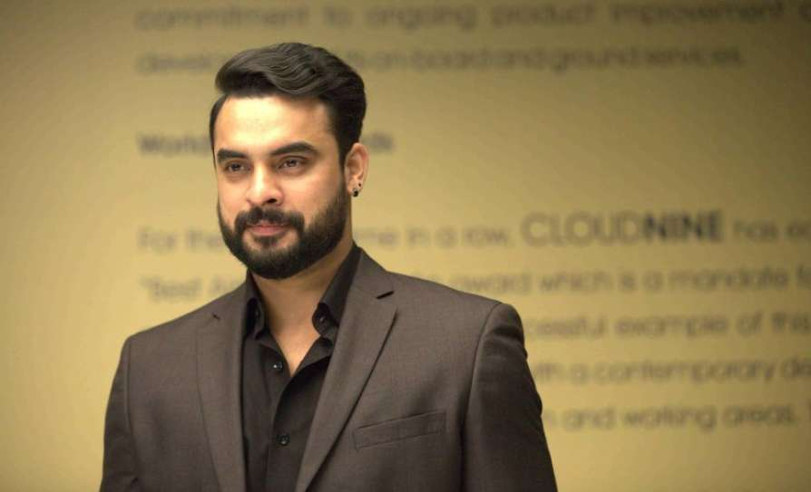 Malayalam actor Tovino Thomas blessed with a baby boy