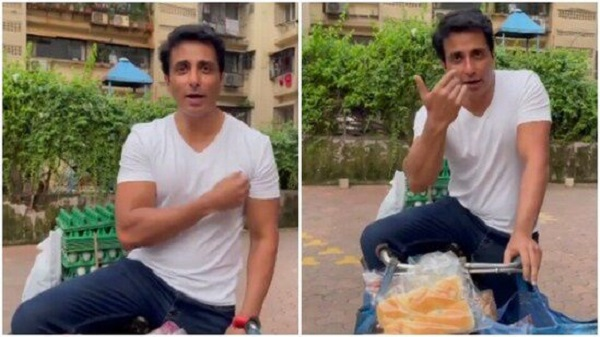 Sonu Sood sells bread and eggs on a bicycle, says