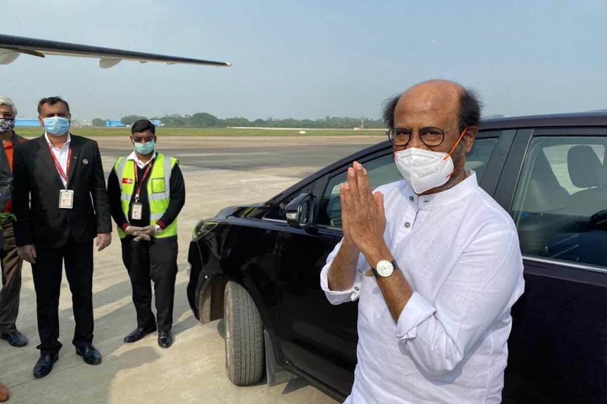 Rajinikanth wraps up shoot of upcoming film