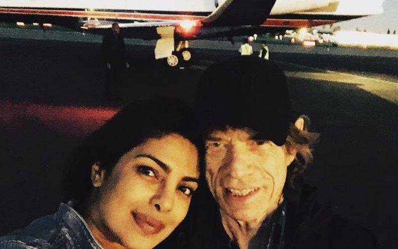 Priyanka Chopra Poses With Mick Jagger; Reveals Her Oscar Plans