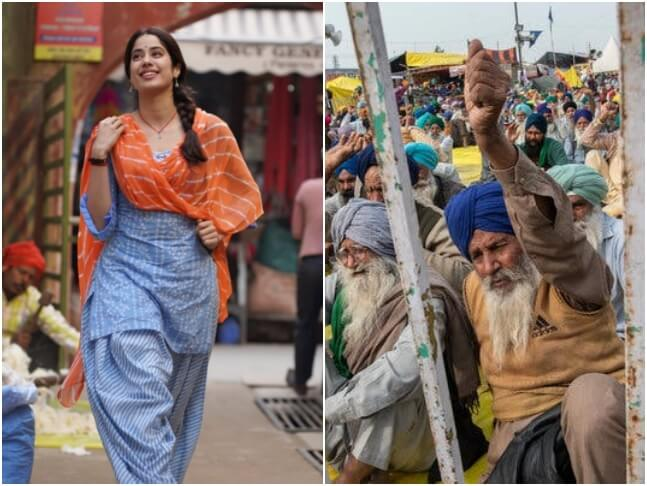 Good Luck Jerry shoot starring Janhvi Kapoor halted by farmers in Punjab