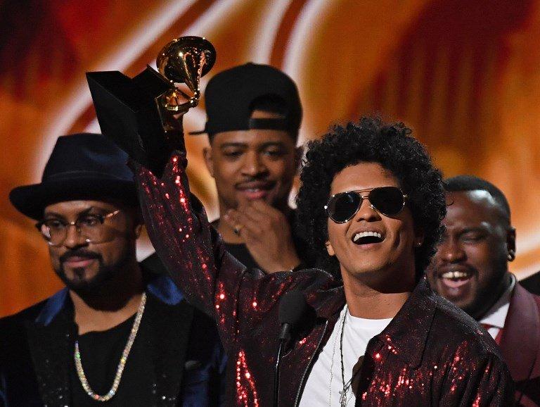 Grammys 2018: Bruno Mars