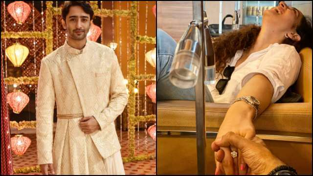TV star Shaheer Sheikh gets engaged to girlfriend Ruchikaa Kapoor