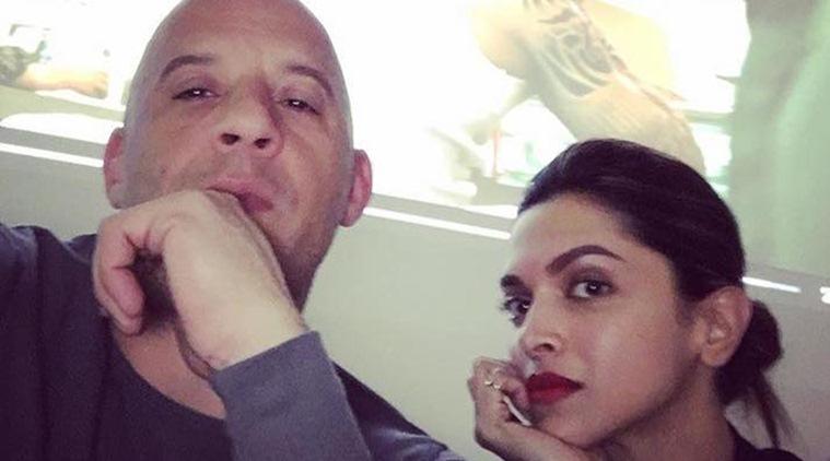 Vin Diesel can't wait to work with Deepika Padukone