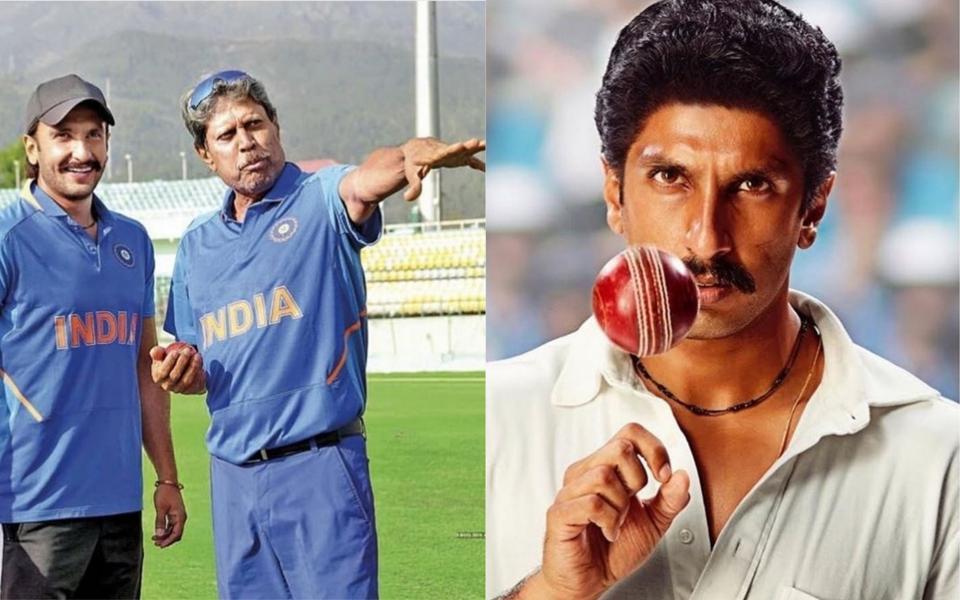 Ranveer Singh unveils first look as Kapil Dev on birthday