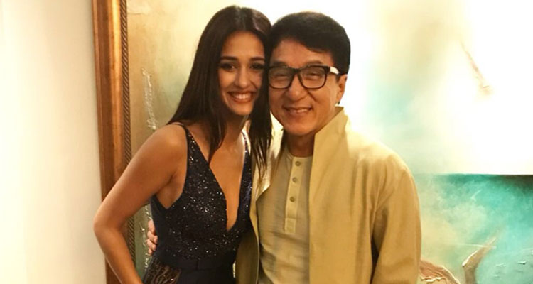 Baaghi 2 actress Disha Patani wished living legend Jackie Chan on his 64th birthday
