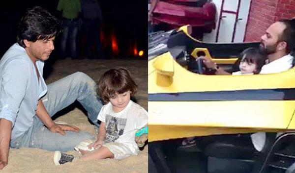 AbRam learnt to play with cars from Rohit Shetty: SRK