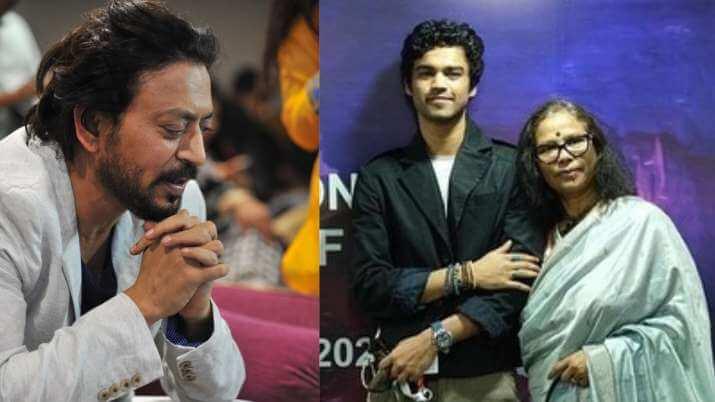 IFFI honours Irrfan Khan, Sutapa Sikdar and Babil Khan attends the film festival