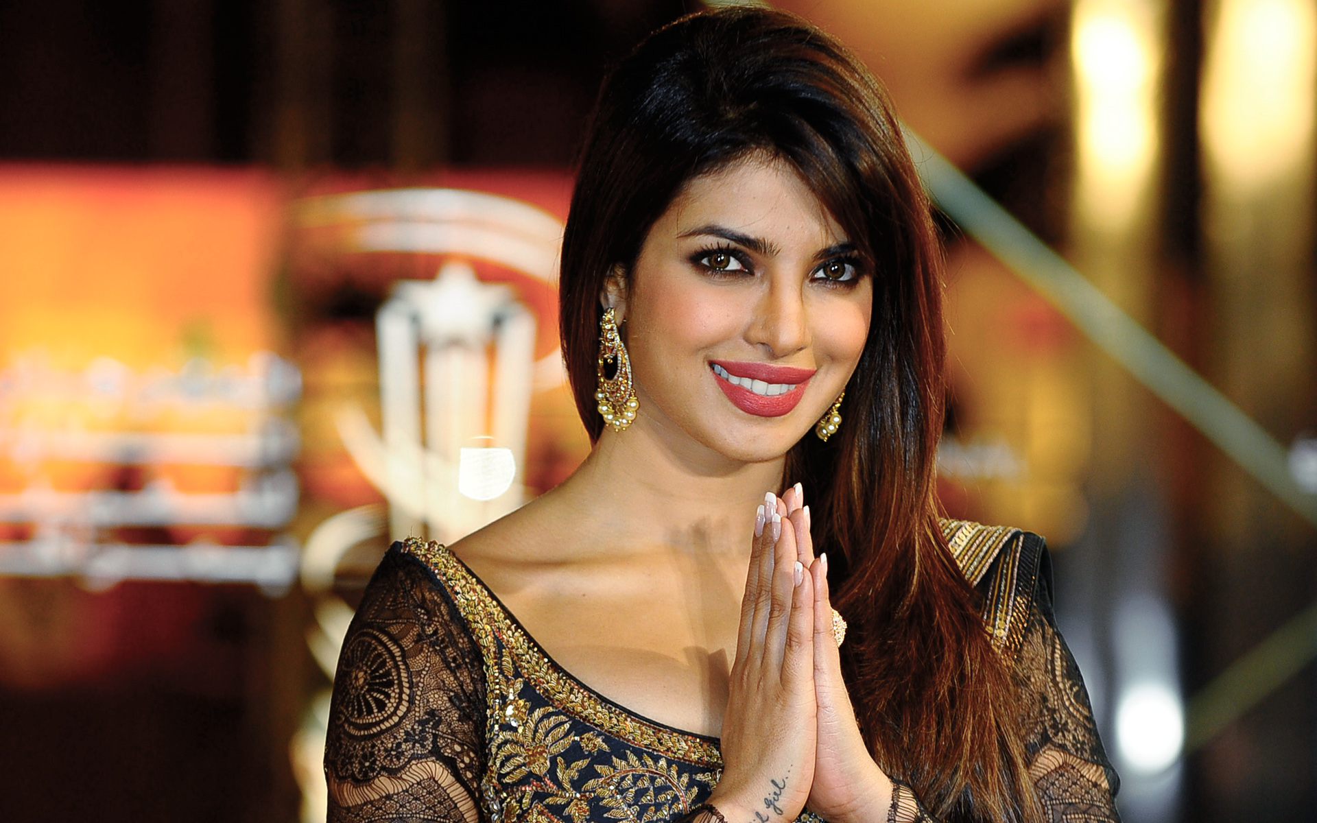 Priyanka Chopra voted