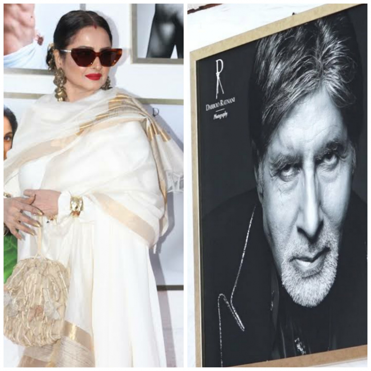 Rekha avoided posing next to BIG B