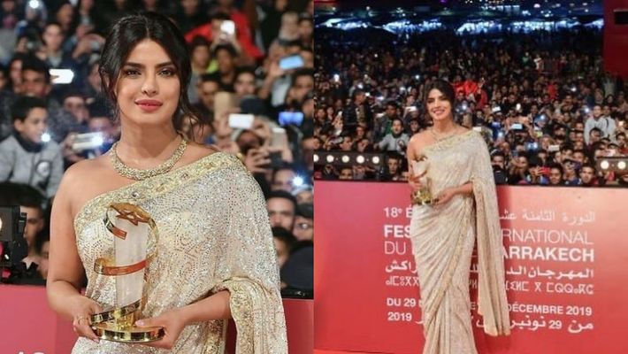 Priyanka honoured at Marrakech Film Festival