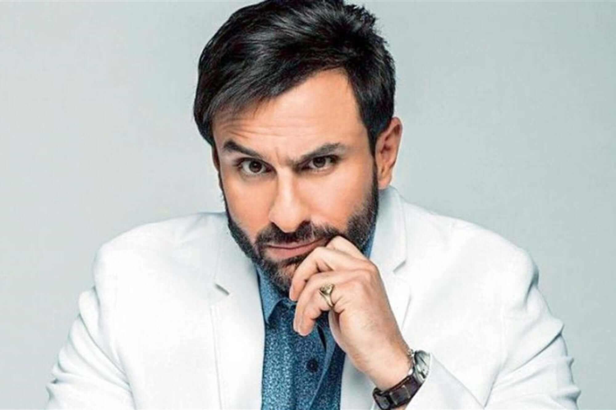 Saif Ali Khan receives first jab of COVID-19 vaccine