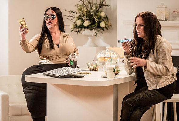 Dawn French, Saunders poke fun of Kim Kardashian