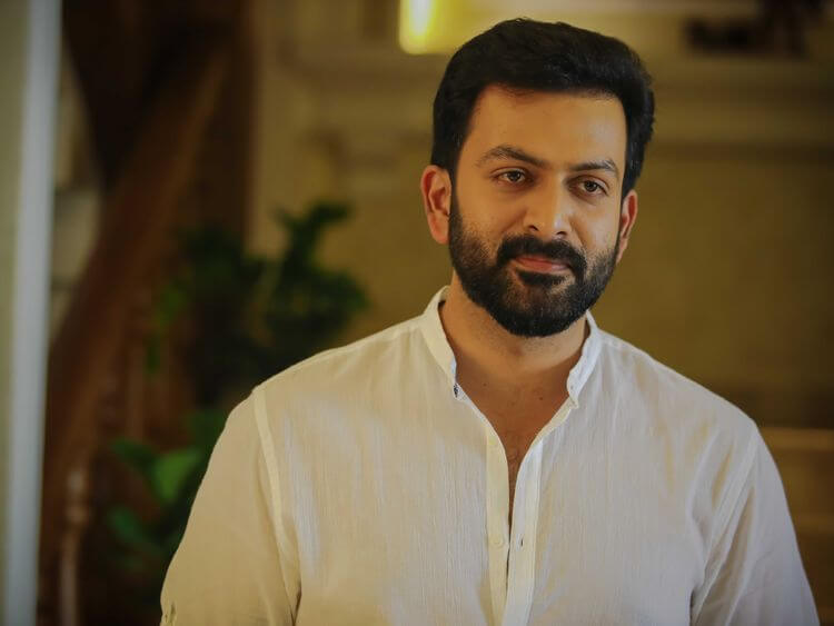 Actor Prithviraj tests positive for coronavirus