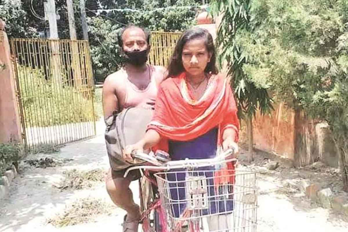 Cycling fame Jyoti Kumari all set to be the protagonist in a film about her journey