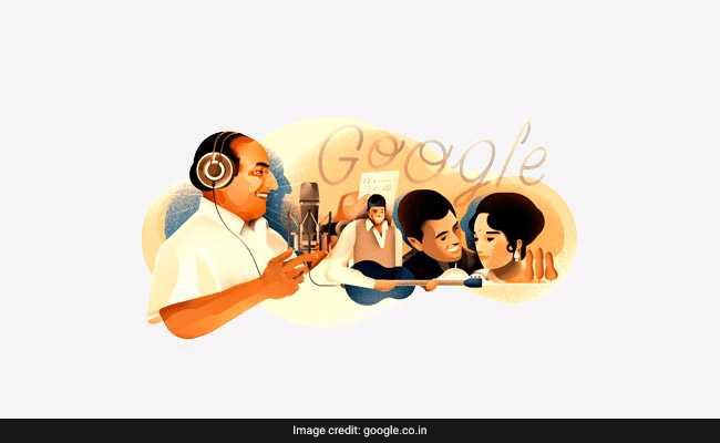 Google doodle pays tribute to legendary singer Mohammed Rafi