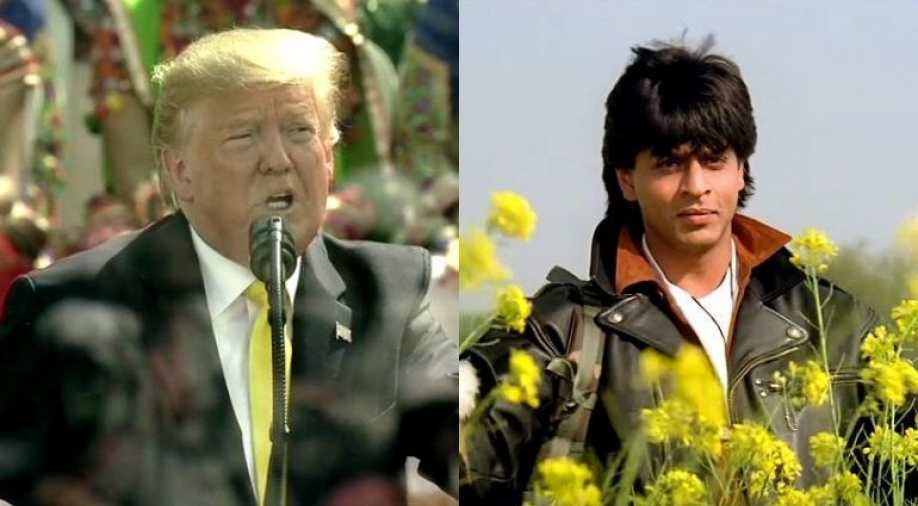 Ahmedabad: Donald Trump praise Bollywood classics DDLJ and Sholay in his speech at Motera stadium