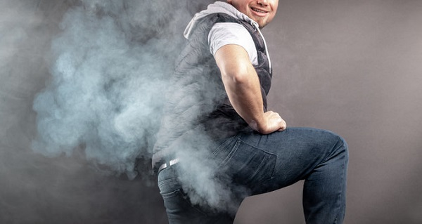 Wife complains about husband farting loudly and proudly in public