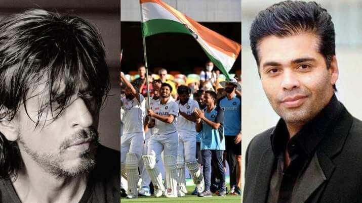Bollywood Celebs cheer after Team India