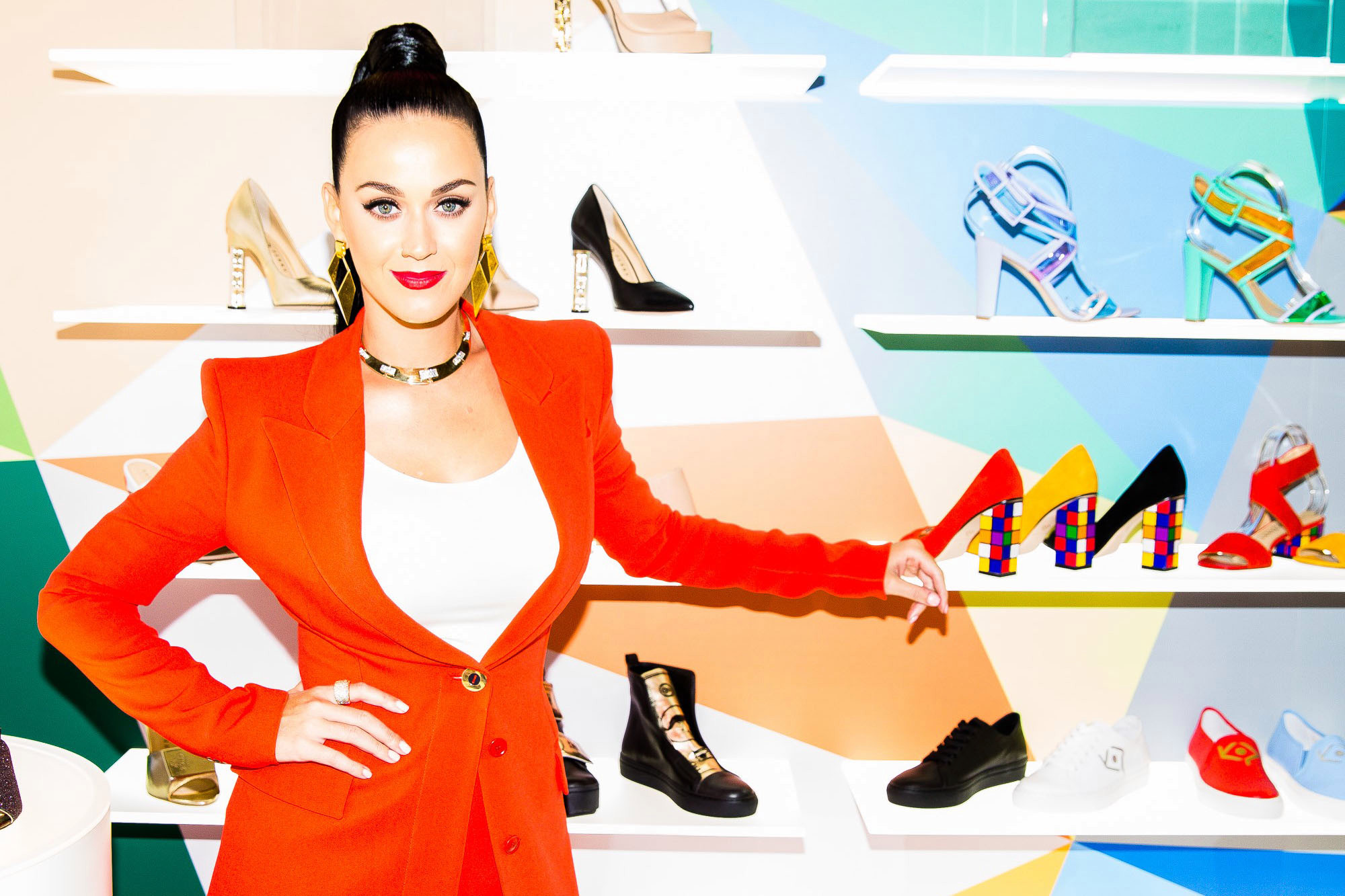 Katy Perry launches scented jelly sandals collection
