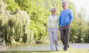 Healthy diet, daily walks keeps elder