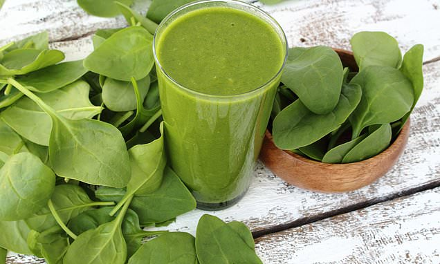 Spinach smoothie is healthiest to eat the vegetable: study