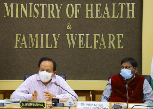Health Minister Dr Harsh Vardhan launches
