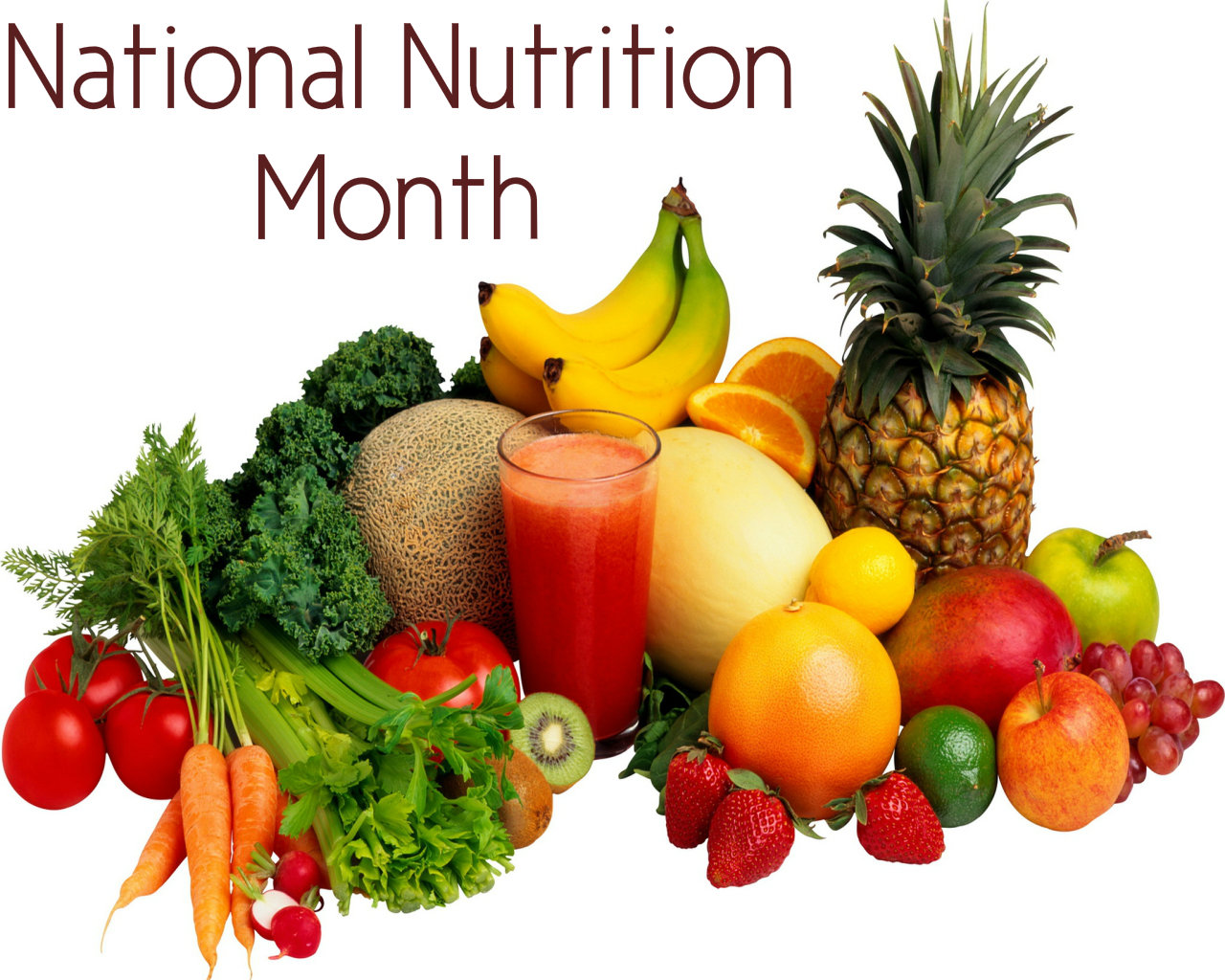 National Nutrition Month being celebrated across country