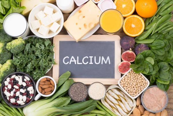 Organic Foods that contain more Calcium