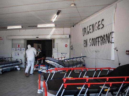 France reports 588 Coronavirus deaths yesterday