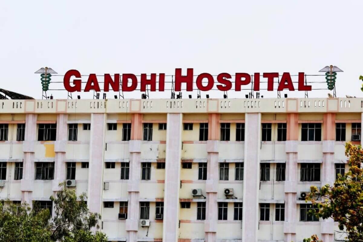 Woman with COVID-19 positive gives birth to twins at Gandhi Hospital