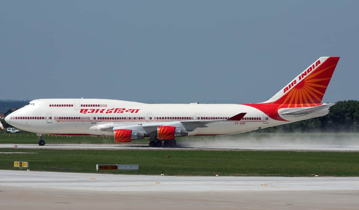 Air India flight returns midway from Delhi to Moscow after pilot detect positive for COVID-19