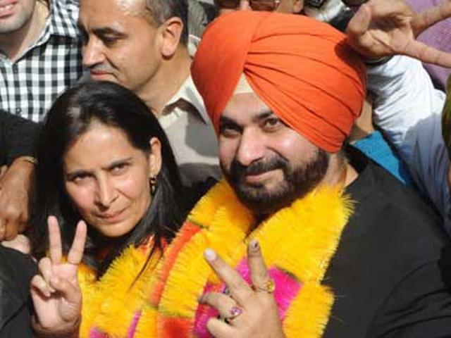 Navjot Sidhu wins Amritsar (East) seat by over 40,000 votes