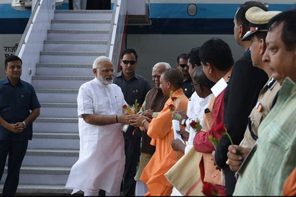 PM Narendra Modi In Varanasi After Big UP Win, To Launch Key Schemes