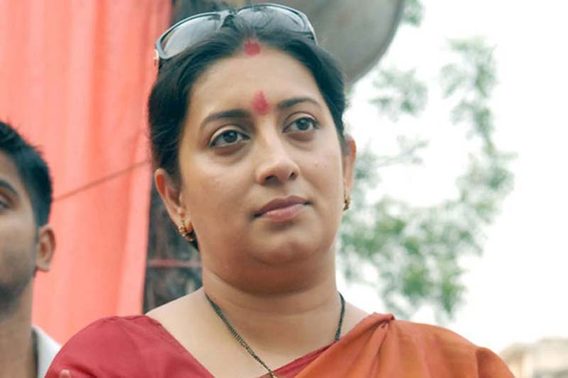 Priyanka equally responsible for Cong's poor show in UP: Irani