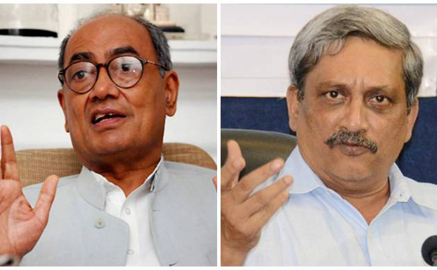 After Clearing Goa Floor Test, Parrikar Lashes out at Digvijaya