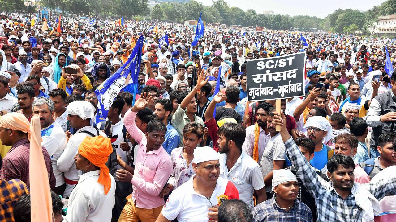 For Ravidas Temple Dalits Launch Movement for Delay