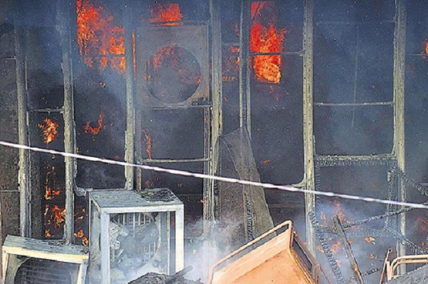 CPI(M) Tripura Office Set On Fire Amid Violent Clashes With BJP