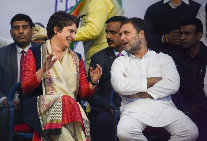 delhi-polls-congress-leaders-rahul-gandhi-and-priyanka-gandhi-addresses-election-rallies