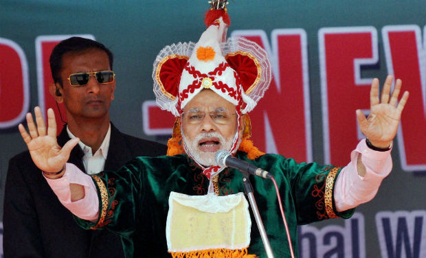 Manipur election 2017: PM Modi adorns unique headgear associated with Meitei culture