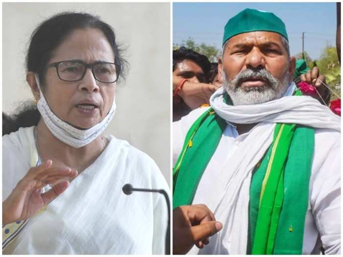 Rakesh Tikait to meet Mamata Banerjee to discuss strategy for farmers' protest