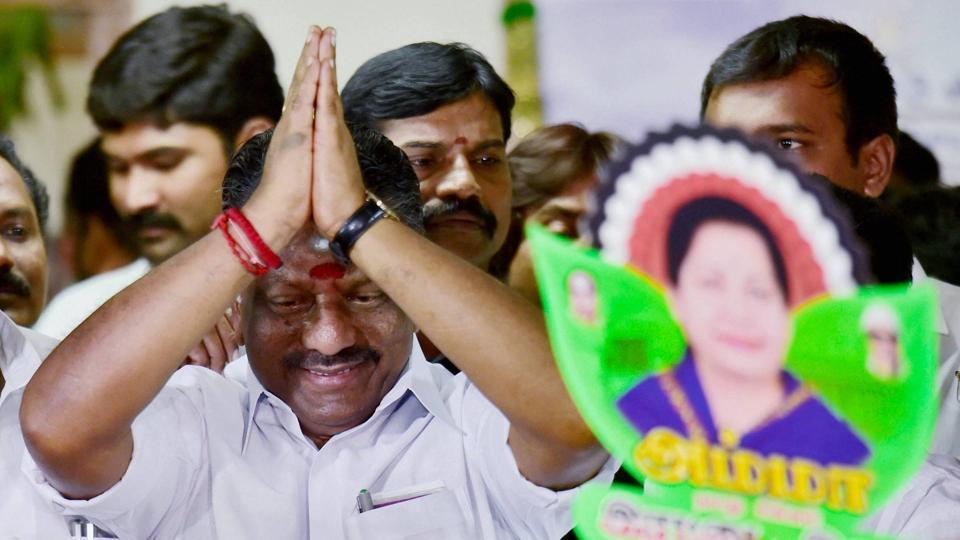 Panneerselvam's camp gets three MPs, one Minister